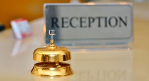 Hotels bell Reception